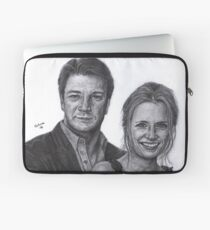 Mr and Mrs Castle Laptop Sleeve