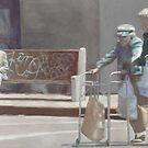 Crossing Divisadero by dbclemons