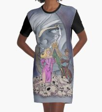 The Adventures of Strongarm & Lightfoot: Assassins Brawl Graphic T-Shirt Dress