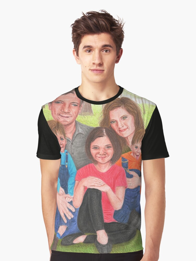Caskett family  Graphic T-Shirt Front