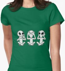 3 ufo Women's Fitted T-Shirt