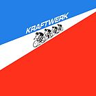 KRAFTWERK - TOUR DE FRANCE by SUPER-TEES