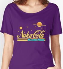 Nukacola Quantum Modern Redesign Women's Relaxed Fit T-Shirt