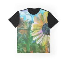 Foreground Flower Graphic T-Shirt