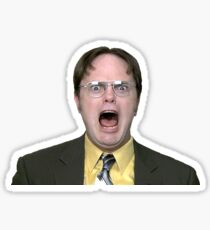 Dwight Schrute of The Office Sticker