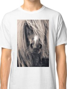 Portrait Of A Pony Classic T-Shirt
