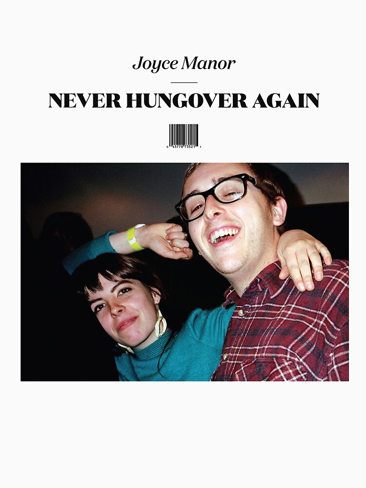 Joyce Manor - Never Hungover Again album art by cullenders
