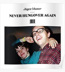 Joyce Manor - Never Hungover Again album art Poster