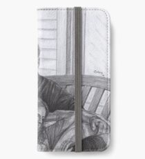 Castle and Beckett - Relax on the porch swing iPhone Wallet/Case/Skin