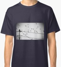Birds not on a wire Classic T-Shirt