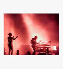 Thom and Jonny from Radiohead playing Lollapalooza Photographic Print