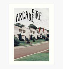 Arcade Fire Art Print