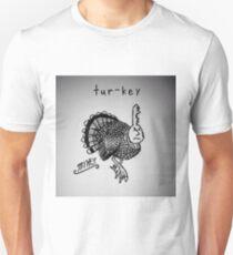 """PUN COMIC - """"TUR-KEY"""" Unisex T-Shirt"""