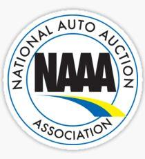 National Auto Auction Association Logo Sticker