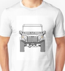 Land Rover Defender, Experimental Grill and Headlamp Cluster Unisex T-Shirt