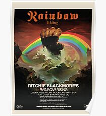 Rainbow Rising Album Launch 1976 Advert Poster Poster