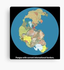National Pangea Canvas Print