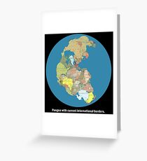 National Pangea Greeting Card