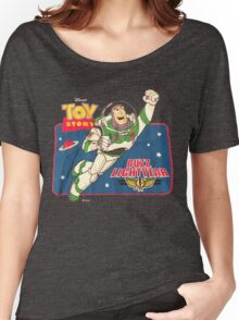 Vintage Buzz Lightyear Star Command Space Ranger   Women's Relaxed Fit T-Shirt