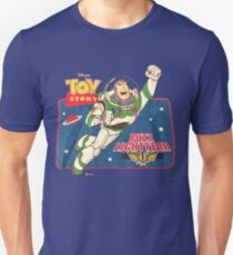 Vintage Buzz Lightyear Star Command Space Ranger   Unisex T-Shirt