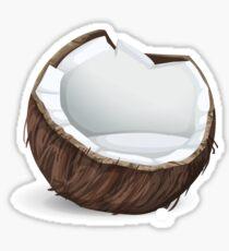 Glitch furniture armchair coconut armchair Sticker
