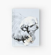 White & Wong Hardcover Journal