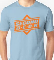 #SecondDeck Unisex T-Shirt