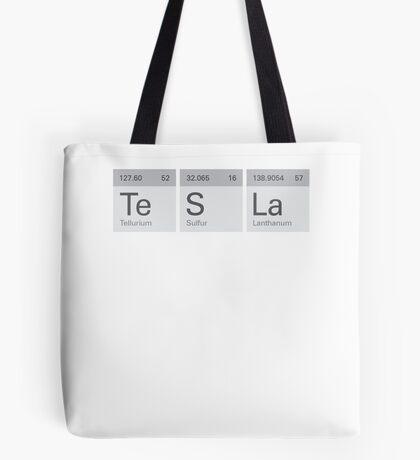 Periodic Tesla Tote Bag