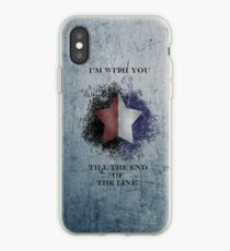 I'm with you till the end of the line ver2 iPhone Case
