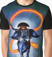 Halloween Rider Graphic T-Shirt
