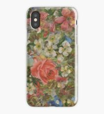 Pretty. Odd. Flowers Painting iPhone Case/Skin