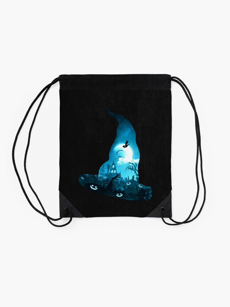 Alternate view of The Witches Hour Drawstring Bag