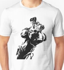 The Force by Grey Williamson (Black) Slim Fit T-Shirt