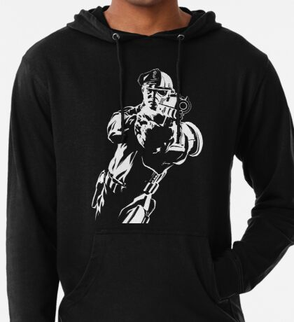 The Force by Grey Williamson (White) Lightweight Hoodie