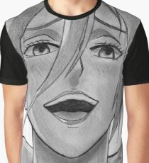 Annie Leonhart Pencil Drawing Graphic T-Shirt