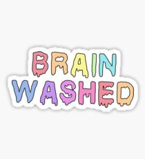 Brain Washed Sticker