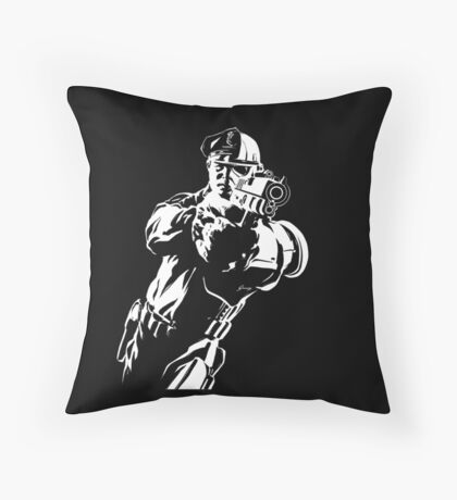 The Force by Grey Williamson (White) Throw Pillow