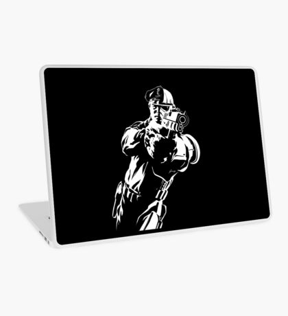 The Force by Grey Williamson (White) Laptop Skin