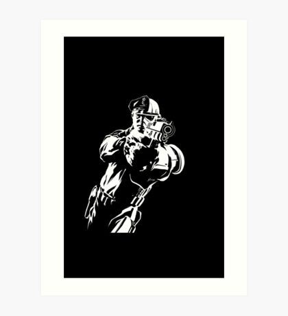 The Force by Grey Williamson (White) Art Print