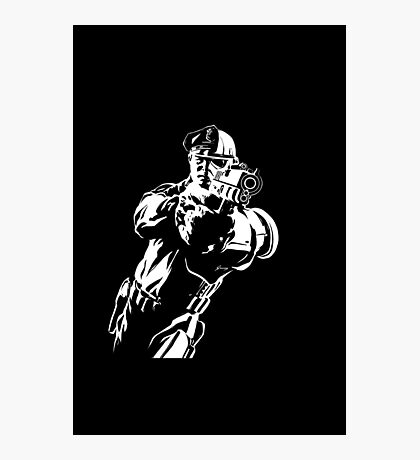 The Force by Grey Williamson (White) Photographic Print