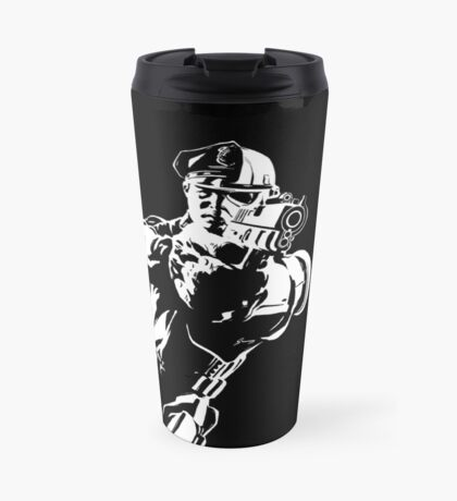 The Force by Grey Williamson (White) Travel Mug
