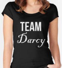 Team Darcy Jane Austen Pride & Prejudice Women's Fitted Scoop T-Shirt