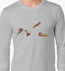 Superkid sequential art Long Sleeve T-Shirt