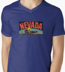 Nevada NV State Vintage Travel Decal T-Shirt