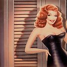 LOVELY RITA HAYWORTH by Dale  Sizer