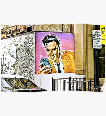 """""""We Have an Elvis Sighting""""... prints and products Poster"""