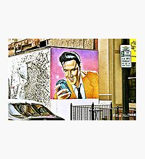 """We Have an Elvis Sighting""... prints and products Photographic Print"