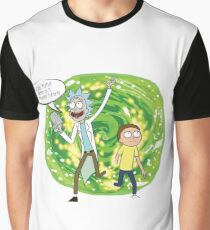 We're on a t-shirt Morty! Graphic T-Shirt