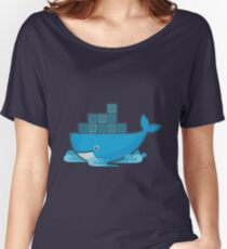 Docker Moby Whale Women's Relaxed Fit T-Shirt
