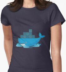 Docker Moby Whale Women's Fitted T-Shirt
